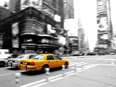 Fototapety PEJZAŻ MIEJSKI taxi 11116