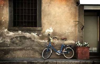 Fototapety ULICZKI rowery 11256