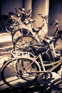 Fototapety ULICZKI rowery 11258