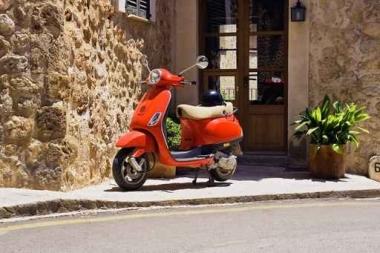 Fototapety ULICZKI rowery 11259