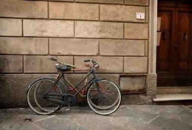 Fototapety ULICZKI rowery 11262