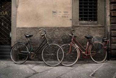 Fototapety ULICZKI rowery 11264