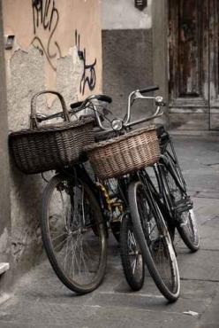 Fototapety ULICZKI rowery 11265