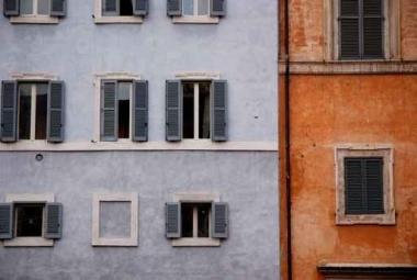 Fototapety ULICZKI okna 11269