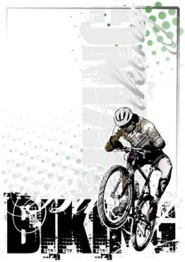 Fototapety SPORT rower 11808