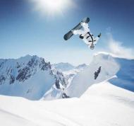 Fototapety SPORT sporty zimowe 11858 mini