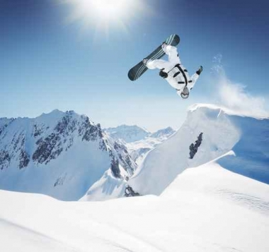 Fototapety SPORT sporty zimowe 11858