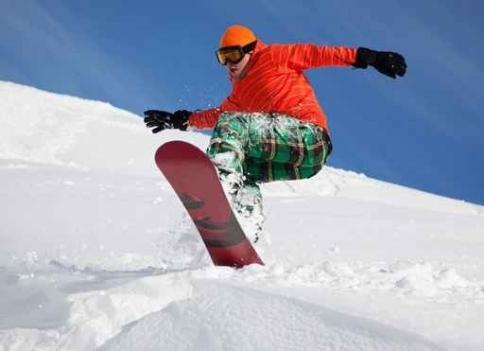 Fototapety SPORT sporty zimowe 11865-big