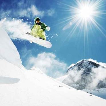 Fototapety SPORT sporty zimowe 11871