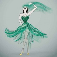 Fototapety KOLORY szmaragd emerald 11880 mini