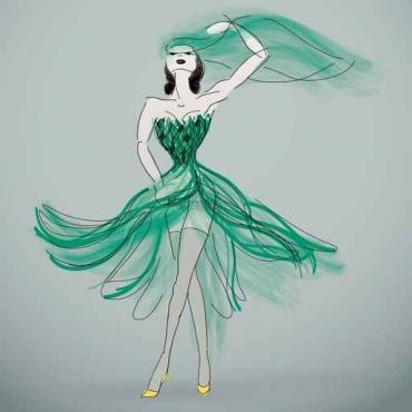 Fototapety KOLORY szmaragd emerald 11880