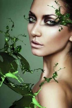 Fototapety KOLORY szmaragd emerald 11917
