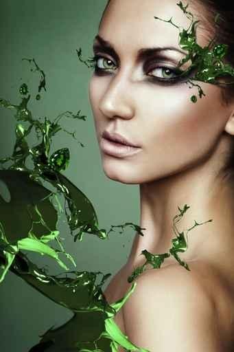Fototapety KOLORY szmaragd emerald 11917-big