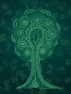 Fototapety KOLORY szmaragd emerald 11930 mini