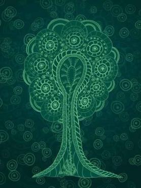 Fototapety KOLORY szmaragd emerald 11930