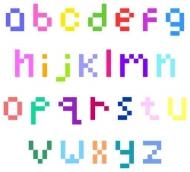 Fototapety PIXELE pixele 12320 mini