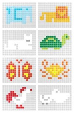 Fototapety PIXELE pixele 12326