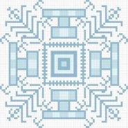 Fototapety PIXELE pixele 12375 mini