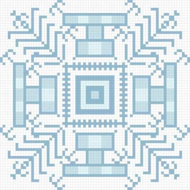 Fototapety PIXELE pixele 12375