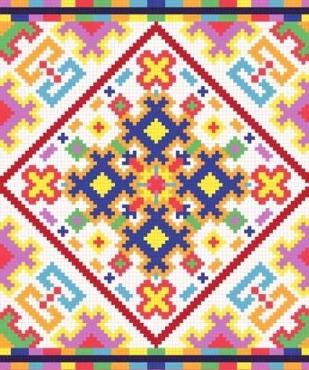 Fototapety PIXELE pixele 12379