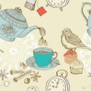 Fototapety DO KUCHNI herbata i kawa time 12481 mini