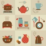 Fototapety DO KUCHNI herbata i kawa time 12484 mini