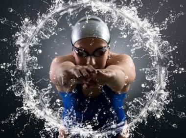 Fototapety SPORT pływanie 12564