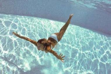 Fototapety SPORT pływanie 12569