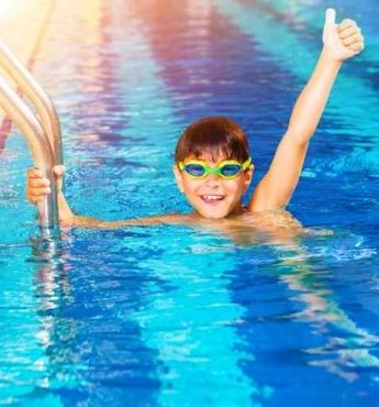 Fototapety SPORT pływanie 12572
