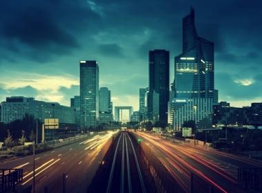 Fototapety PEJZAŻ MIEJSKI miasto nocą 13637