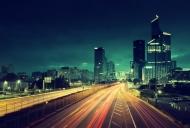Fototapety PEJZAŻ MIEJSKI miasto nocą 13643 mini