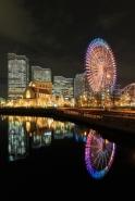 Fototapety PEJZAŻ MIEJSKI miasto nocą 13645 mini