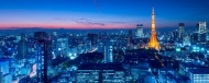 Fototapety PEJZAŻ MIEJSKI miasto nocą 13647 mini