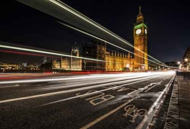Fototapety PEJZAŻ MIEJSKI miasto nocą 13659