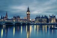 Fototapety PEJZAŻ MIEJSKI miasto nocą 13660 mini