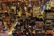 Fototapety PEJZAŻ MIEJSKI miasto nocą 13673 mini