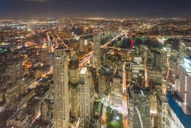 Fototapety PEJZAŻ MIEJSKI miasto nocą 13676