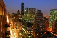 Fototapety PEJZAŻ MIEJSKI miasto nocą 13683 mini