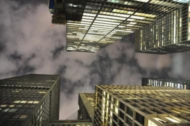 Fototapety PEJZAŻ MIEJSKI miasto nocą 13684