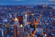 Fototapety PEJZAŻ MIEJSKI miasto nocą 13685 mini
