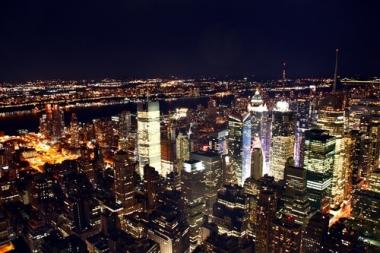 Fototapety PEJZAŻ MIEJSKI miasto nocą 13690