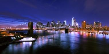 Fototapety PEJZAŻ MIEJSKI miasto nocą 13691