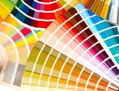 Fototapety GRAFICZNE paleta barw 1694