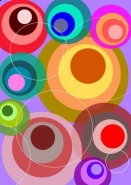 Fototapety GRAFICZNE paleta barw 1702 mini