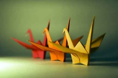 Fototapety INNE origami 1923