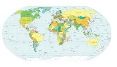 Fototapety KOSMOS mapy 2156