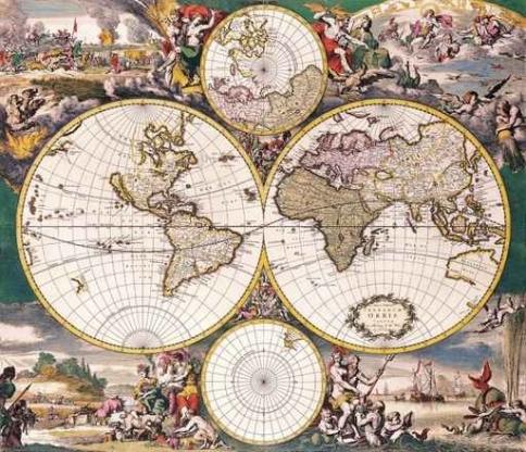 Fototapety KOSMOS mapy 2159-big