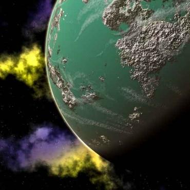 Fototapety KOSMOS planety 2174
