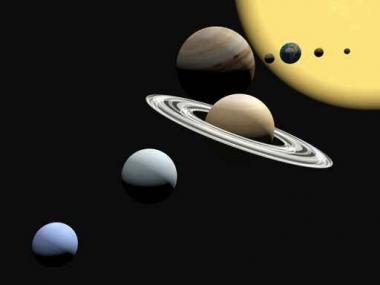 Fototapety KOSMOS planety 2175
