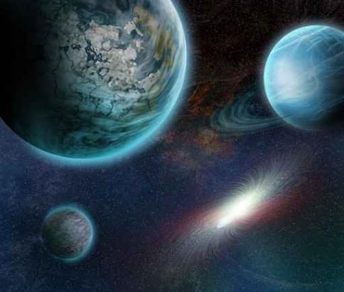 Fototapety KOSMOS planety 2176-big